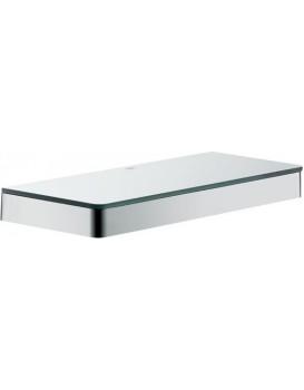 Koupelnová police AXOR UNIVERSAL ACCESSORIES 30 cm stříbrná
