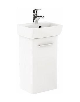 Umyvadlová skříňka s umyvadlem KOŁO NOVA PRO - bílý lesk