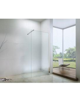 Sprchová zástěna MEXEN WALK-IN transparentní, 90 cm
