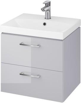 Umývadlová skrinka s umývadlom CERSANIT LARA Stela šedá