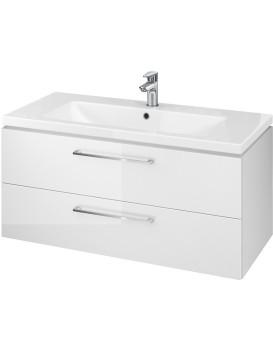 Umyvadlová skříňka s umyvadlem CERSANIT LARA Zoe bílá