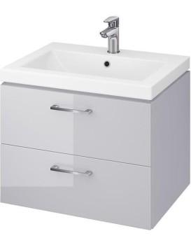 Umyvadlová skříňka s umyvadlem CERSANIT LARA Pola šedá