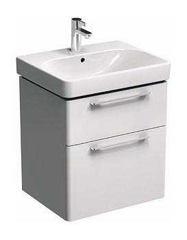 Umývadlová skrinka KOŁO TRAFFIC 46,1 x 62,5 x 56,8 cm - biela