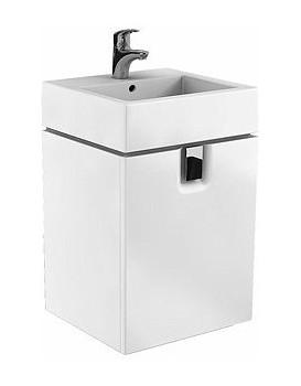 Umyvadlová skříňka KOŁO TWINS - závěsná, bílá