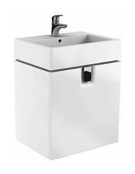 Umyvadlová skříňka KOŁO TWINS - bílá-šuplíky