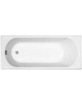 Pravoúhlá vana Kolo Opal Plus 170x70 cm bílá