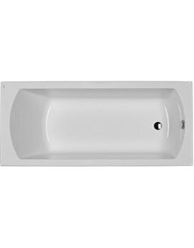 Obdélníková vana KOLO PERFECT 150x75 cm bílá