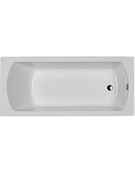 Obdélníková vana KOLO PERFECT 170x75 cm bílá