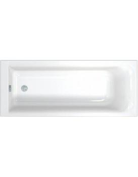 Pravoúhlá vana KOLO REKORD 160x70 cm bílá