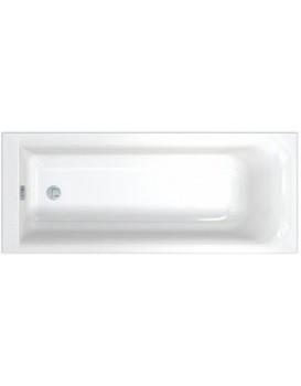 Obdĺžniková vaňa KOLO REKORD 170x70 cm biela - s povrchovou úpravou AntiSlide