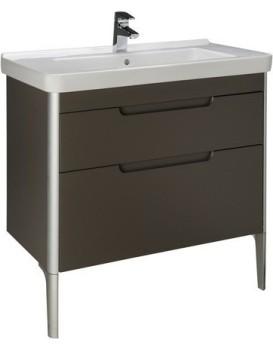 Umyvadlová skříňka s umyvadlem ROCA DAMA-N  85 cm - šedý antracit