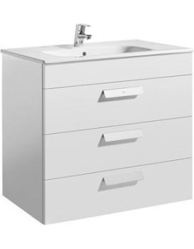 Umyvadlová skříňka s umyvadlem ROCA DEBBA  - bílá