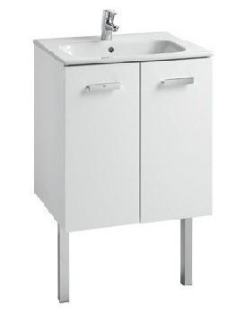 Umyvadlová skříňka ROCA VICTORIA BASIC 60 cm - bílý lesk