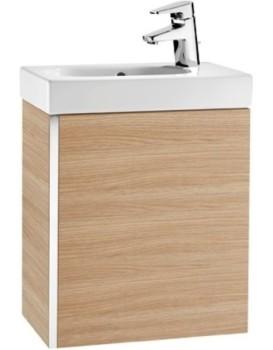 Umyvadlová skříňka s umyvadlem UNIK MINI dub