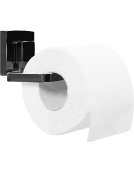 Držiak na toaletný papier Rea VACUUM čierny