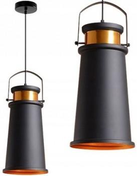 Stropní svítidlo ASTI A černé/zlaté