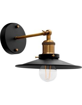 Nástenná lampa PORTO KINKIET BLACK