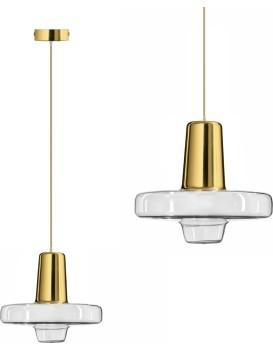 Stropné svietidlo APP553-1CP LED zlaté