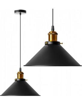 Stropné svietidlo TooLight Porto čierne