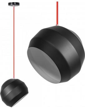 Stropní svítidlo APP381-1CP černé