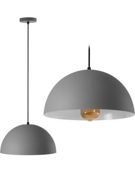 Stropné svietidlo Mesa 180976 sivé