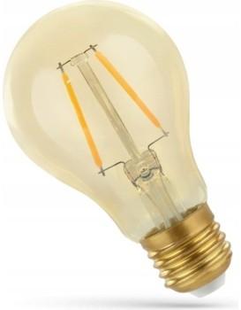 LED žárovka teplá E-27 230V 2W Edison