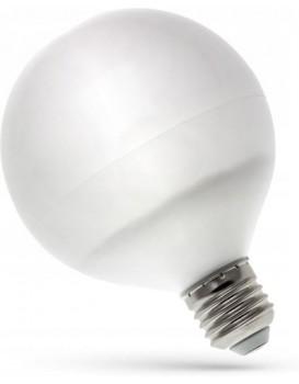 LED žárovka koule studená E-27 230V 13W