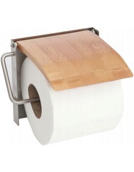 Nástenný držiak na toaletný papier Bamboo hnedý