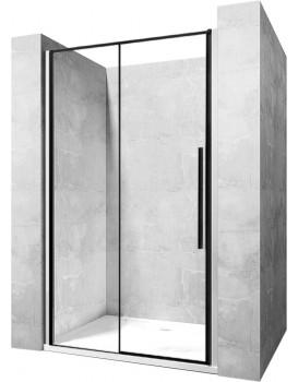 Sprchové dvere SOLAR BLACK MAT 140