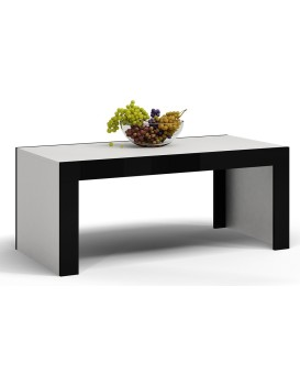 Konferenční stolek DEKO D1 černobílý