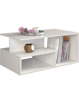 Konferenční stolek PRIMA matně bílý