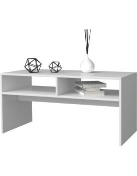 Konferenční stolek MESA- Bílý mat