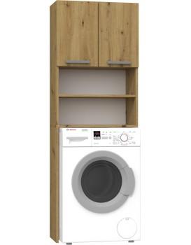 Koupelnová skříňka nad pračku Della hnědá