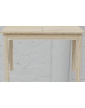 Rozkládací stůl Kevin 120-160cm hnědý