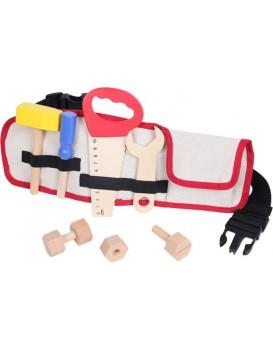 Dřevěné nářadí pro děti s opaskem EcoToys