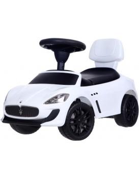 Detské odrážadlo auto Maserati biele