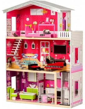 Dřevěný domek pro panenky Rezidence Malibu Eco Toys