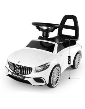 Dětské odrážedlo Mercedes AMG bílé