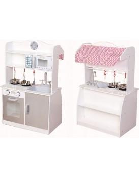 Drevená kuchynská linka a predajný pult pre deti Eco Toys