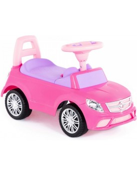 Dětské odrážedlo SuperCar Drive Ladies růžové/fialové