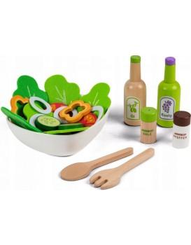 Súprava na zeleninový šalát pre deti