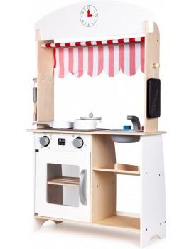 Drevená kuchynka pre deti Obchodík s doplnkami EcoToys
