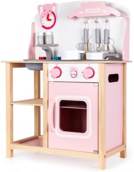 Drevená kuchynka pre deti EcoToys Roggo