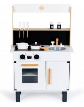 Dřevěná kuchyňka pro děti ELOISE bílá