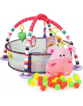 Dětská podložka 3v1 HIPPO barevná