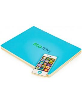 Dětský edukační laptop TWIGY modrý