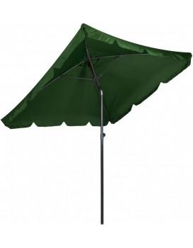 Záhradný slnečník Skos 200x200 cm zelený