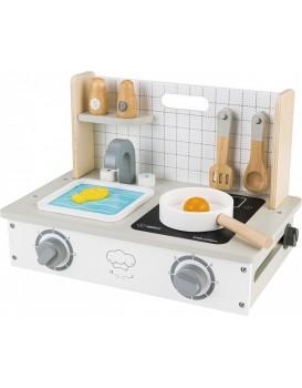 Dřevěná kuchyňka Ecotoys s mini doplňky