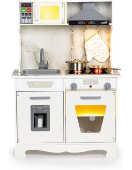 Dřevěná kuchyně Ecotoys LED