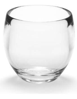 Pohár na zubnú kefku Droplet transparentný